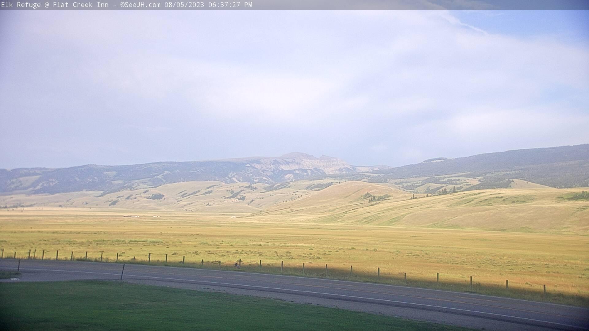 See Jackson Hole National Elk Refuge Live Video Webcam