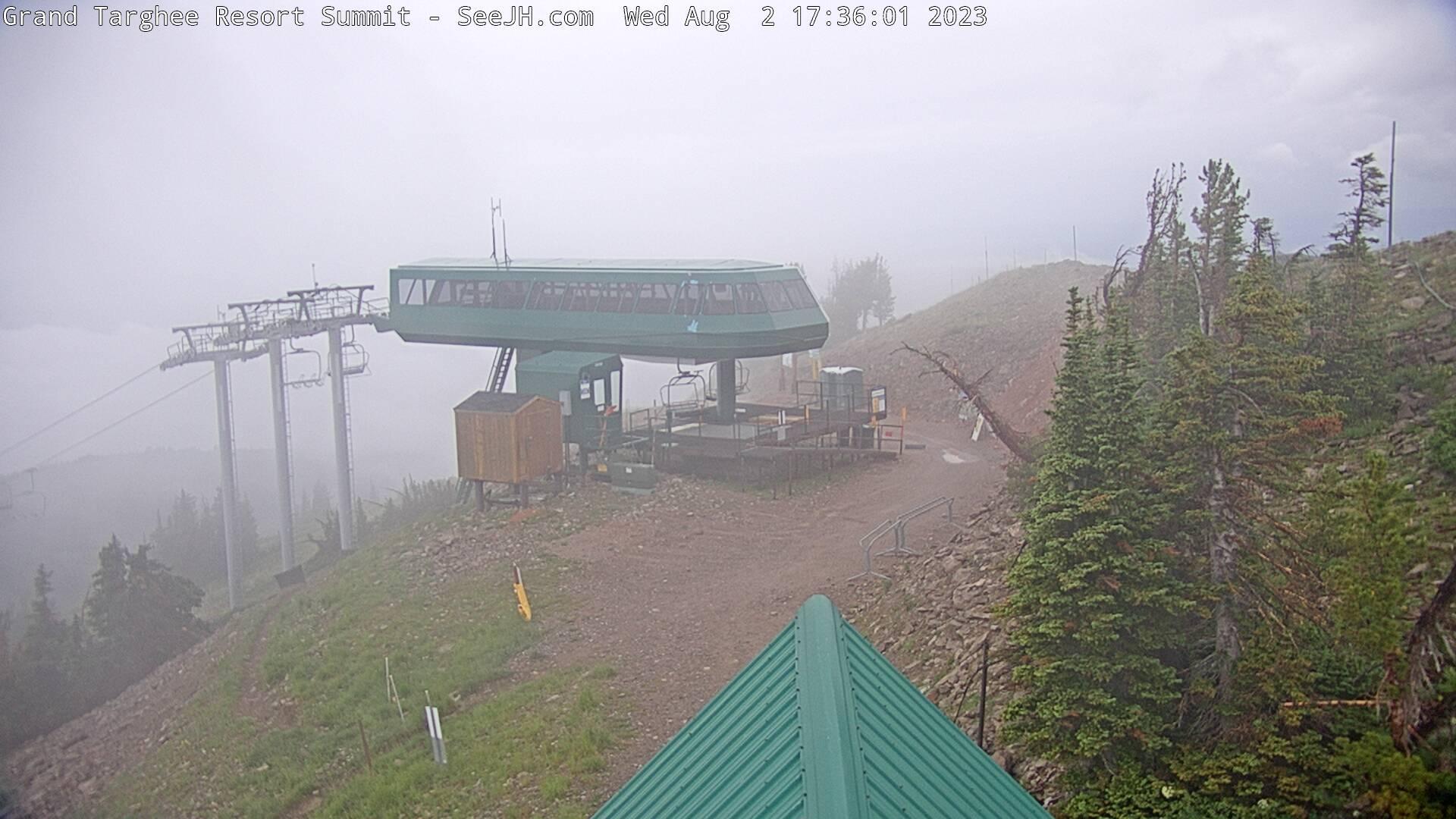 Grand Targhee Ski Area Webcam Image