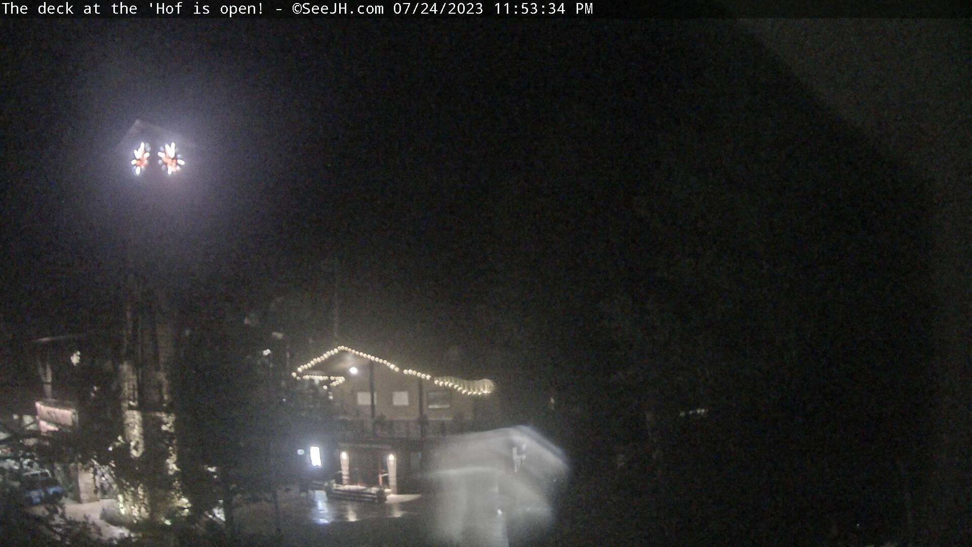 Jackson Hole Resort Tram Station Webcam Image