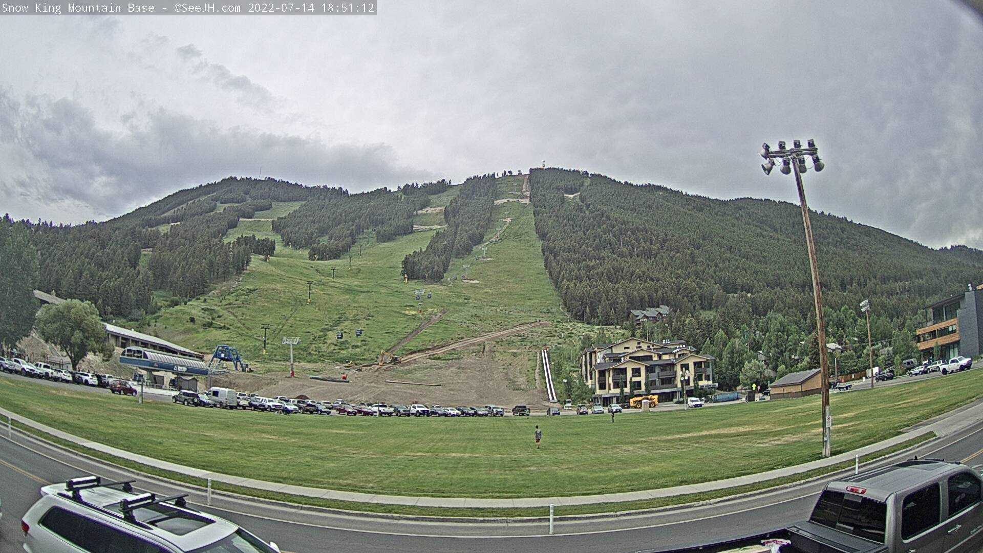 Snow King - Base View