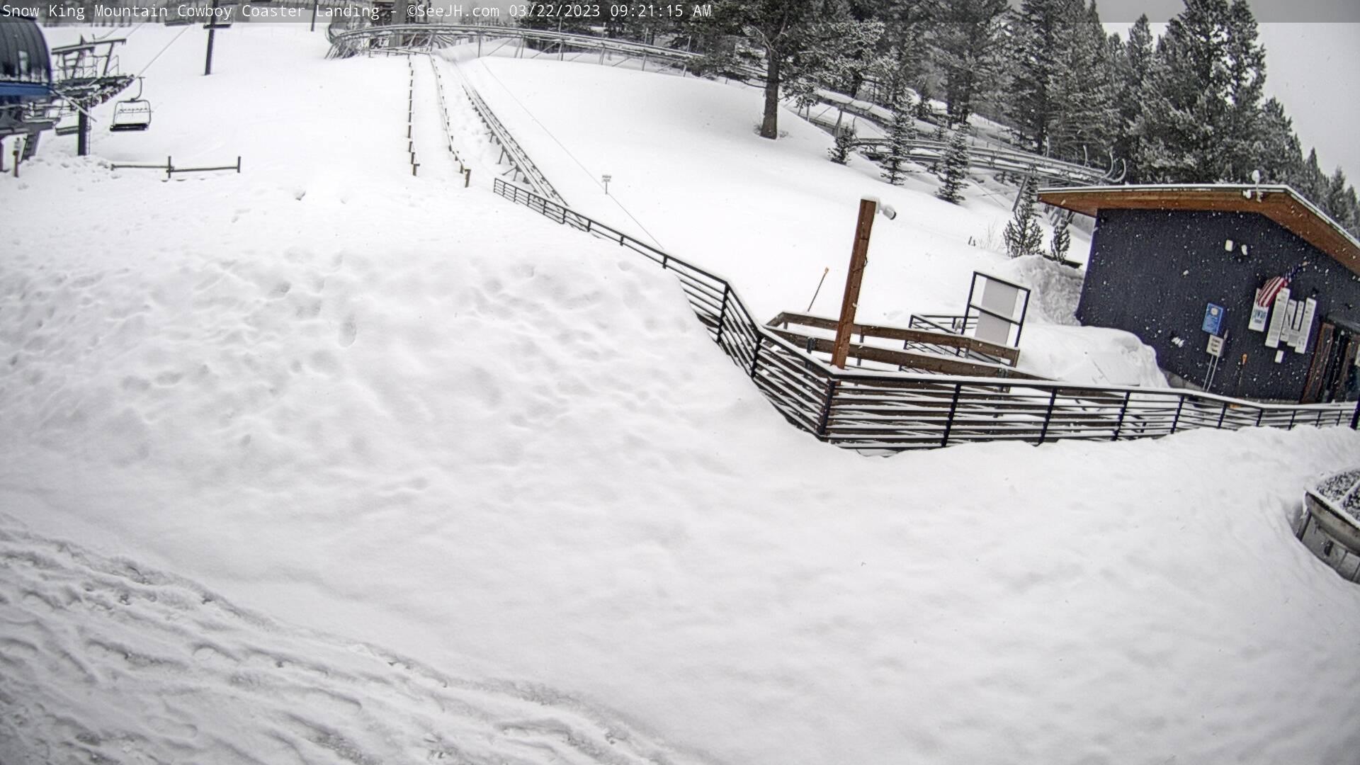 Snow King Mountain Landing